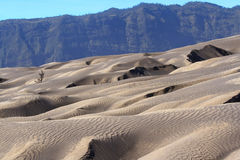 Sand pattern of vocano Royalty Free Stock Images
