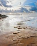 Sand Patterns Royalty Free Stock Photos