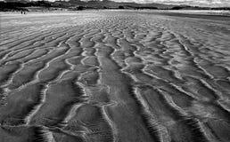 Sand patterns. Royalty Free Stock Photos
