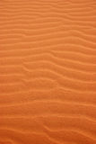 Sand patterns in the desert Stock Image