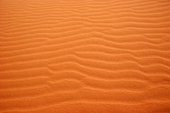 Sand patterns in the desert - Landscape Royalty Free Stock Photo