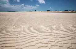 Sand Patterns in Turks & Caicos Stock Photo