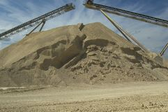 Sand pile Stock Image