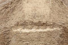Sand pile background Stock Photo