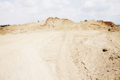 Sand pile Royalty Free Stock Photos