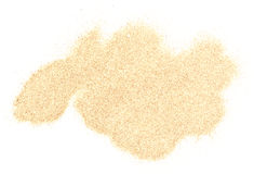 Sand pile. Isolated on white background stock photography