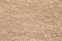Sand pile. Sand texture from sand pile Stock Photos