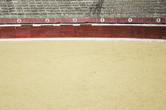 Sand place toros royalty free stock photography