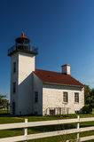 Sand Point Lighthouse. In Escanaba, Michigan stock images