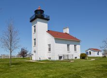 Sand Point Lighthouse royalty free stock image