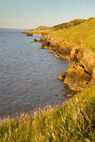 Sand Point near Weston-super-Mare Somerset Royalty Free Stock Photos