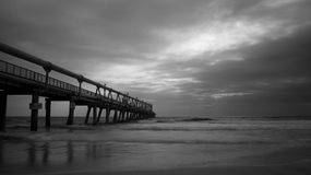 Sand Pumping Jetty Royalty Free Stock Photos