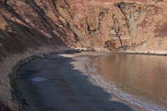 Sand-Punkt Alaska Stockfotografie