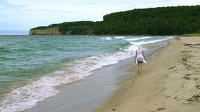 Sand-Punkt-Strand stock video