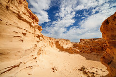 Sand quarry Royalty Free Stock Photo