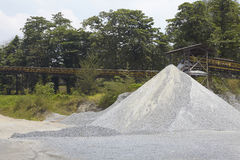 Sand quarry Stock Image