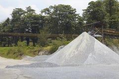 Sand quarry Stock Image