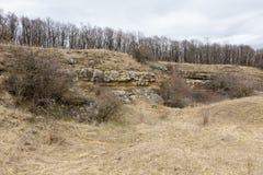 Sand quarry Stock Photo