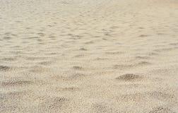 Sand after rain. Royalty Free Stock Photos