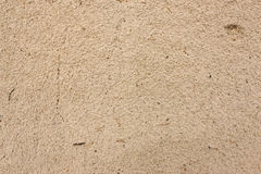 Sand after rain texture. Height shot Royalty Free Stock Photography