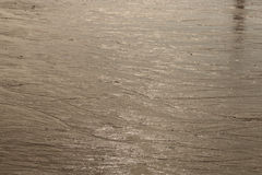 Sand reflect sunlight during the evening Royalty Free Stock Images