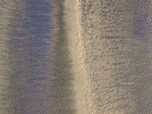 Sand and reflections royalty free stock image