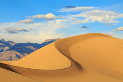 Sand ridge at Death Valley, California, USA.. Royalty Free Stock Photo