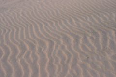Sand Ripple Background Stock Photo