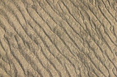 Sand Ripple Background Royalty Free Stock Photography