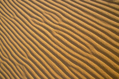 Sand Ripple Patterns Royalty Free Stock Image