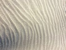 Sand Ripple Patterns Stock Image