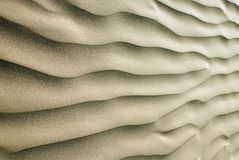 Sand ripples Royalty Free Stock Photos