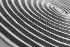 Sand ripples. Close-up of sand ripples Stock Image