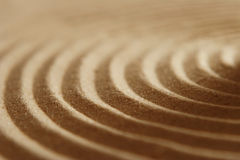 Sand ripples Stock Image