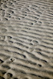 Sand ripples Royalty Free Stock Photography