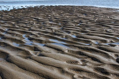 Beach Sand Ripples - Art of Nature Stock Images