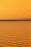 Sand ripples background Royalty Free Stock Image