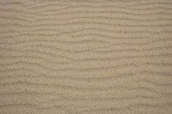 Sand Ripples For Background Royalty Free Stock Photo