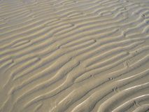 Sand ripples background Royalty Free Stock Photography