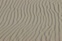 Sand ripples beach desert background horizontal Royalty Free Stock Photo