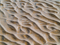 Sand Ripples at the Beach Royalty Free Stock Photo