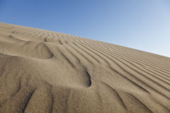 Sand Ripples. Close-up on sand ripples, Patara, Turkey Royalty Free Stock Image
