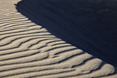 Sand Ripples. Close-up on sand ripples, Patara, Turkey Stock Photos