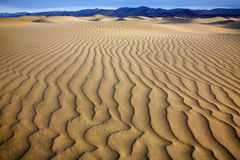 Sand Ripples, Death Valley Royalty Free Stock Images