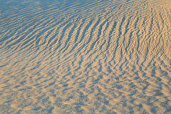 Sand ripples at Death Valley, California, USA.. Royalty Free Stock Photo