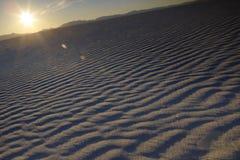 Sand ripples in desert USA Stock Photo