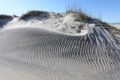 Sand Ripples and Dune-Cape Hatteras National Seashore Royalty Free Stock Photo