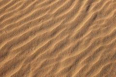 Sand Ripples Horizontal Royalty Free Stock Photography