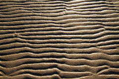 Sand ripples Stock Photos