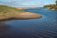 Sand River Royalty Free Stock Image